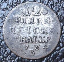 1764 B GERMAN STATES - 1/12 THALER - SILVER