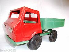 #4 Vintage Original Soviet СССР Russian USSR Toy Metal Car Rubber Wheels