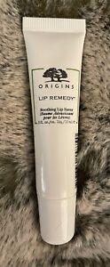 Origins Lip Remedy Soothing Lip Saver Balm .5 Oz 15 mL Full Size SEALED Clear
