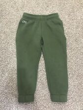 Boys Lacoste Joggers Size 4 Years