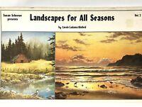 SUSAN SCHEEWE PAINTING LANDSCAPES V2 1984, Landscapes For All Seasons BOOK