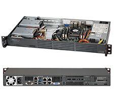 Supermicro SuperChassis Cse-504-203b 200w Mini 1u Rackmount Server Chassis Black