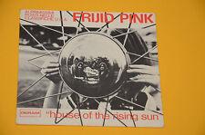 "FRIJID PINK 7"" 45 (NO LP ) HOUSE RISING SUN 1°ST ITALY 1970 SOLO COPERTINA EX"