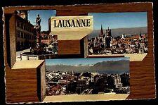 Lausanne Suisse Suisse AK 3 vues Mehrbild-AK CARTE POSTALE ungelaufen 1960