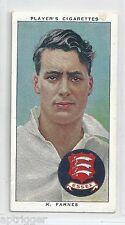 1938 John Player & Sons (8) K. FARNES Cambridge, Essex & England