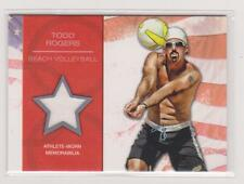 2012 TOPPS OLYMPIC TODD ROGERS RELIC CARD ~ BEACH VOLLEYBALL ~ MULTIPLES