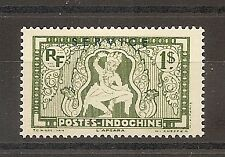 TIMBRE ASIA INDOCHINE INDOCHINA SERVICE N°15 NEUF* MH CHINE CHINA VIETNAM ¤¤¤