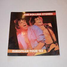 Rolling Stones - Tour Programmheft European Tour 82