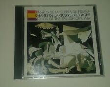Songs of Spanish Civil War by Various Artists (CD, 1996, Chants De La Guerre...)