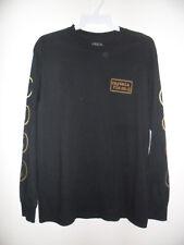"Captain Fin Men's L/S Shirt ""Anchor Sleeve"" BLK - Medium - NWT"