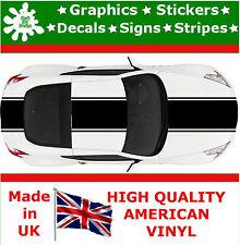 """17.5"""" racing stripes sticker autocollant vinyle voiture auto rally graphique jdm TQ14_17.5"""