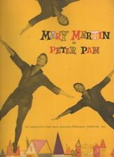 "Mary Martin   ""Peter Pan""   Souvenir Program   1954   TRYOUT  Los Angeles"