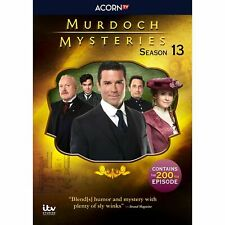 Murdoch Mysteries Season 13 DVD Set (18 Episodes on 5 Discs)