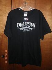 Charleston Southern University Campus College Tee T-Shirt Size Large L Black