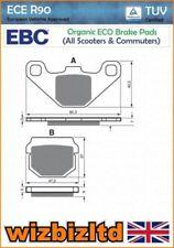 Pastillas de freno EBC color principal plata para motos
