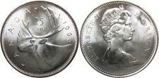 Canada 1966 Silver 25 Cents Choice BU UNC MS-63 Quarter!!