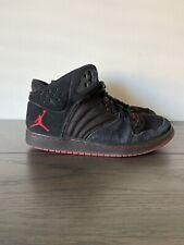 Nike Air Jordan 1 Flight | Black Red | U.K. Size 7.5 | High Top | Used
