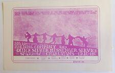 Big Brother, Janis Joplin, Quicksilver | Mt. Tam - Orig. 1967 Handbill *Rare