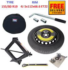 Space Saver Spare Tyre & Wheel with full package for MERCEDES GLC (2015-2019)