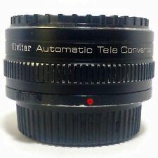 Vivitar Automatic Tele-Converter 2X-21 Teleconverter Olympus OM Mount SLR Camera