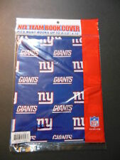 """NFL TEAM BOOK COVER - NY GIANTS -  Fits books up to 8.5""""x10"""