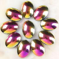47x38x15 mm rare natural hematite Rainbow hematite cabochon