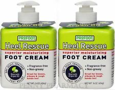 Profoot Heel Rescue Foot Cream Dry Scaly Relief 16 Oz. ( 2 pack )