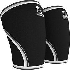 Rodilleras De Compresión Para Levantamiento De Pesas CrossFit Neoprene Par