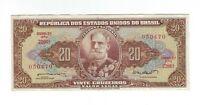 20 Cruzeiros Brasilien 1962 C088 / P.178 -  Brazil Banknote