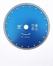 "10"" (250mm) Turbo Diamond Cutting Disc."