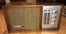 VINTAGE Panasonic Tabletop Wood AM-FM Transistor 2 Band Radio Model RE-7487