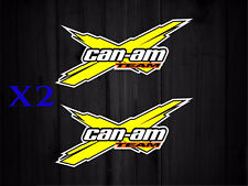 Sticker Autocolant Can Am spyder Club team spyder logo BRP pub adhesive 20cm/10