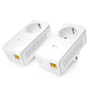 1x Telekom Speedport 101 500MBits dLAN Powerlan Powerline Netzwerkadapter #T114