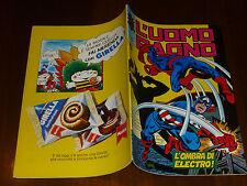 UOMO RAGNO NUMERO 282  Ed. CORNO ANNI 70 - MAGAZZINO !!