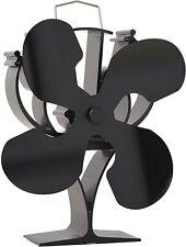 VODA Heat Powered Wood Stove Fan for wood/log burner /fireplace Eco Friendly Fan