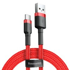 Baseus Usb-C Type C Cable Fast Charging Charger Cord Samsung Note 10 Plus S10 S9
