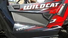 2014-2019 Arctic cat Wildcat 700 Trail Sport Black Lower Doors Extensions panels