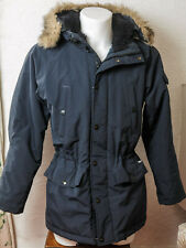 Carhartt Men's Anchorage Parka Navy Blue Small Size RRP £250 Hooded
