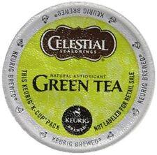 Celestial Seasonings Natural Antioxidant Green Tea 48 K-Cup read description