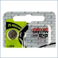 1 Maxell Sr927w  Silver Oxide Watch Batteries 1 55v Exp 2023