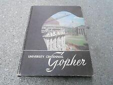 1951 UNIVERSITY OF MINNESOTA YEARBOOK - GOPHER