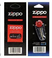 Zippo 1x Wick + 6x Flints- Free & Fast Delivery UK Seller