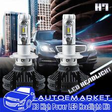 LED H7 Headlight Bulbs 600W Light Bulbs For 2008-2015 Can-Am Spyder RS/GS