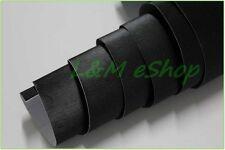 Película de envoltura de vinilo Coche de Aluminio Cepillado Burbuja De Aire Libre Negro 50cm X 1.52m