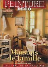 LOISIRS CREATIFS - DECORATION / MAISONS DE FAMILLE - PEINTURE DECO