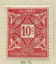 FRENCH COLONIES :;  GUINEE 1914 Postage Due issue Mint hinged 10c. value