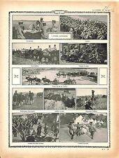 Japan Sebia Armée du Japon Train Artillerie Cavalry Artillery Soldier 1915 WWI