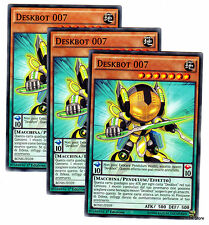 Set 3X DESKBOT 007 BOSH-IT039 Comune Pendulum in Italiano YUGIOH