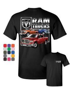 RAM Trucks HEMI T-Shirt Dodge RAM 1500 2500 3500 American Truck Mens Tee Shirt