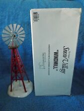 Dept 56  Snow Village Windmill